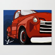 Chevy Me Up  Canvas Print