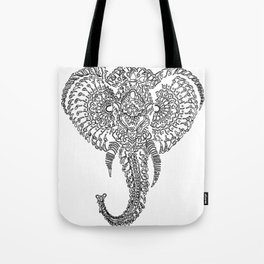 The Elephant Mask Tote Bag