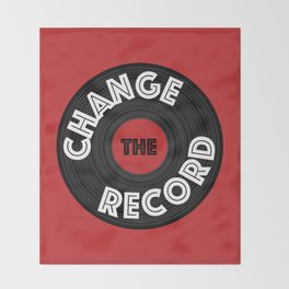 Change the Record Throw Blanket