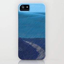 From Chaos To Sea Dunes iPhone Case