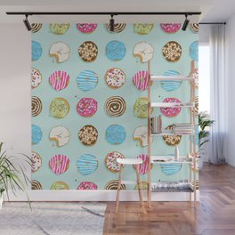 Sweet donuts Wall Mural
