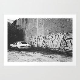 Car, New Orleans  Art Print