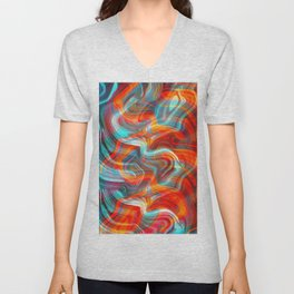 Hot and Cold Unisex V-Neck