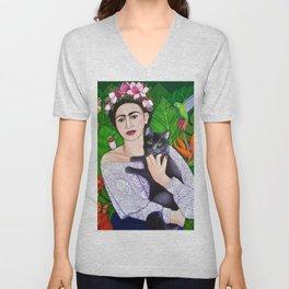 Frida wings Unisex V-Neck