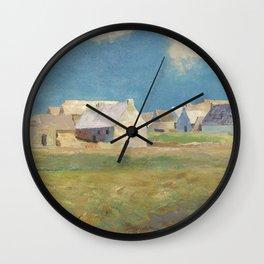 Odilon Redon - Breton Village Wall Clock