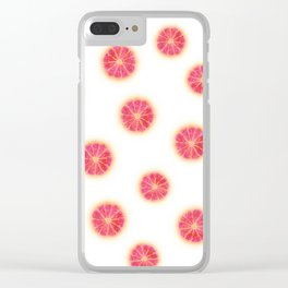 RUBY RED GRAPEFRUIT Clear iPhone Case