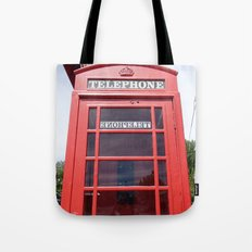 Telephone Booth Tote Bag