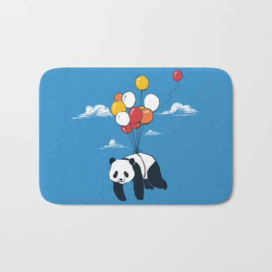 Flying Panda Bath Mat