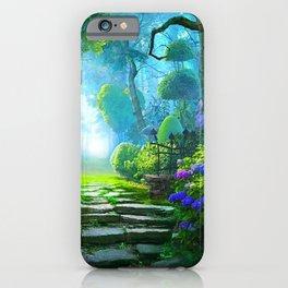 Fascinating Gorgeous Idyllic Dreamy Magic Garden UHD iPhone Case