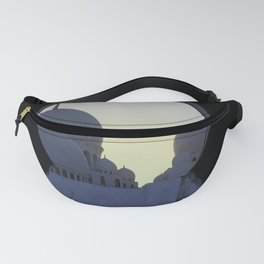 Sheikh Zayed Mosque Fanny Pack