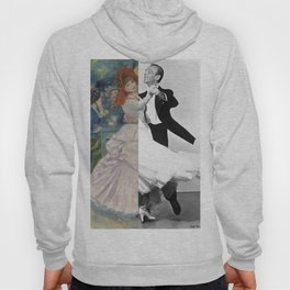 Renoir's Dance at Bougival & Fred Astaire (with Ginger Rogers) Hoody