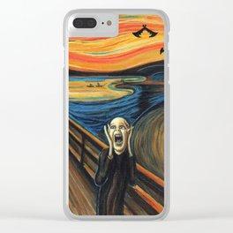 The Shriek Clear iPhone Case