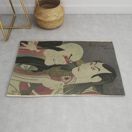 Sharaku_(1794) Sawamura Yodogorō II Rug