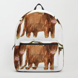 Gathering: Highland Cows Backpack