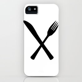 Knife And Fork iPhone Case