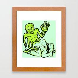 hothouse of horror Framed Art Print