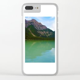 Kinney Lake in Mount Robson Provincial Park, British Columbia Clear iPhone Case