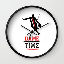 Portland Superstar Dame Time Wall Clock