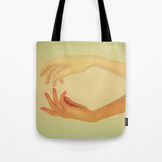 Finger tips Tote Bag