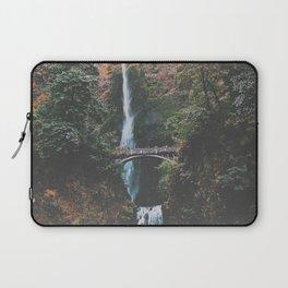 Majestic Multnomah Falls Laptop Sleeve