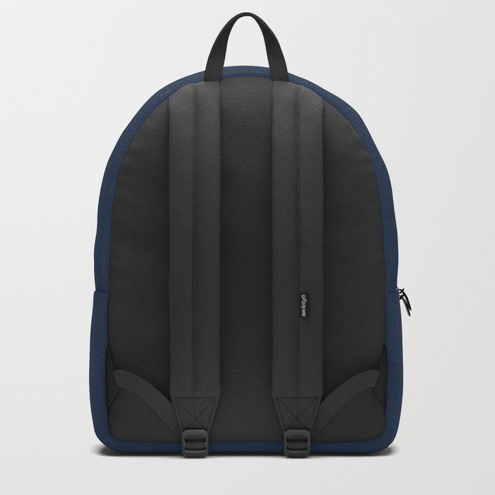 Gossiping Blue Piranha Fish Backpack