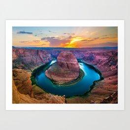 River's Bend Art Print