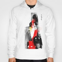 senna Hoodies featuring AYRTON SENNA MP4-4 by Michele Leonello