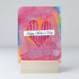 Mothers Day Heart Mini Art Print