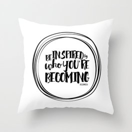 INSPIRE YOURSELF Throw Pillow