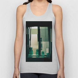 Window Cubism. Unisex Tank Top