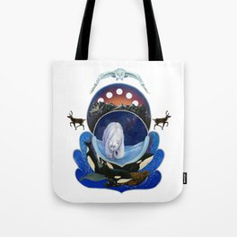 Animals of the Midnight Sun Tote Bag