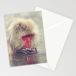 """""""Finger wrinkles, time to get out"""" Stationery Cards"""