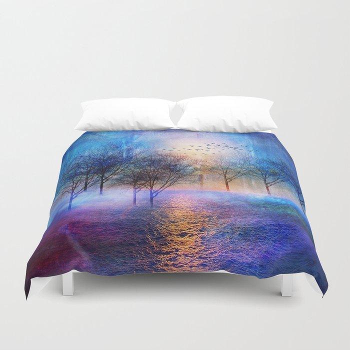Paisaje y color II Duvet Cover