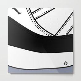 """SNEAKERPILLOW - JORDAN XI """"CONCORD"""" Metal Print"""