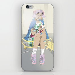 Devil girl iPhone Skin