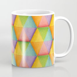 Rainbow Facets Coffee Mug