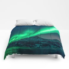 Aurora Borealis (Northern Lights) Comforters