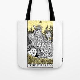 Modern Tarot Design - 3 The Empress Tote Bag