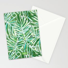 PALMY AND 85 Green Tropical Palm Stationery Cards