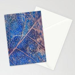 lovely leaf vein Stationery Cards