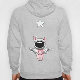 Piglet in Space Hoody