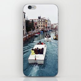 The small boat - Venice iPhone Skin