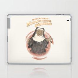 Nunchucking Nunchuck Laptop & iPad Skin