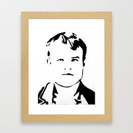 Butch Cassidy Framed Art Print