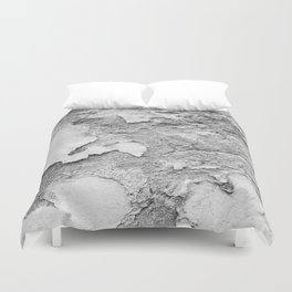 Wall BW Duvet Cover