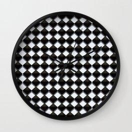 Black Diamond Wall Clock