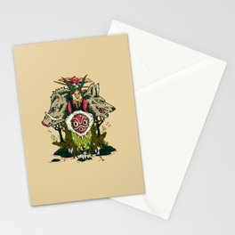 The Wolf Princess Stationery Cards