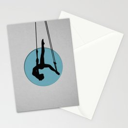 Aerial dance Stationery Cards
