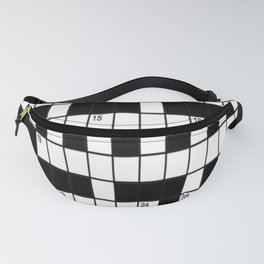 Cross Words Fanny Pack