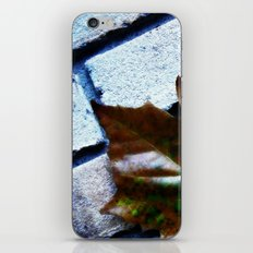 Against The Wall iPhone & iPod Skin